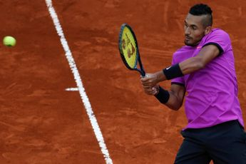 Kyrgios on the verge of dropping out of ATP Top 100