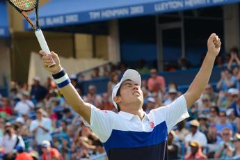 Nishikori, Sock advance, Brooksby upsets Anderson on first day of Citi Open