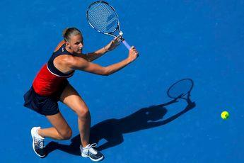 Pliskova powers past Pavlyuchenkova to reach US Open quarterfinals