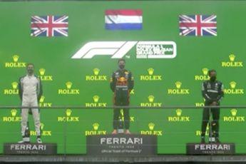 Max Verstappen wint kortste Formule 1 race ooit tijdens kletsnatte Grand Prix van België