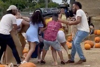 Hoe dan?! Zelfs een pompoenfestival escaleert in Florida