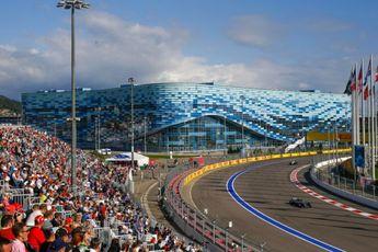 Ondertussen in de F1   Garages in Sochi volledig overstroomd
