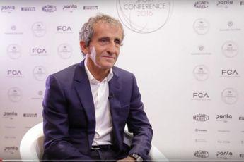 Prost: 'Bij invoering van omgekeerde grid opstelling stap ik uit de sport'