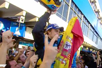 F1 in het kort   Alonso wint ingekorte 24 Uur van Daytona