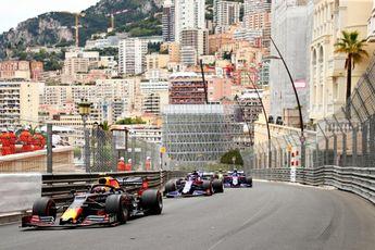 Formule 1 past ook in het nauwe Monaco baanlimieten toe