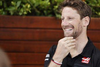 Grosjean staat open voor rol als invaller bij besmetting F1-coureur