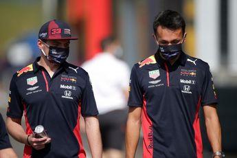 Albon voorziet incidenten in slotfase: 'Verstappen en Hamilton weigeren beiden toe te geven'