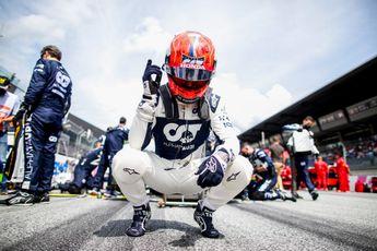 Gasly overdonderd: 'We zaten op een tiende van Ferrari en Red Bull'