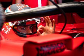 Ferrari-teambaas Binotto kan zijn geluk niet op na aantrekken Sainz