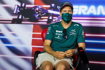 Vettel doet beklag over propvolle kalender: 'Formule 1-races zijn niet speciaal meer'