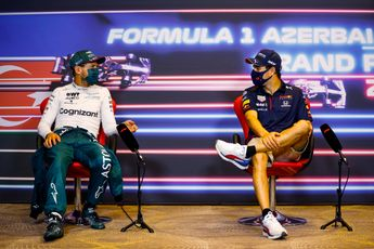Vettel prijst Pérez en Red Bull: 'Meen ik uit de grond van mijn hart'