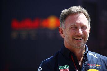 Horner ziet strategische mogelijkheden: 'Maar we gaan niet traag voor zijn neus rijden'