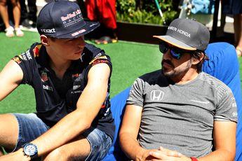 Horner: 'Het leek er dit weekend op alsof Alonso voor Red Bull reed'