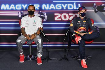 Titelgevecht Verstappen en Hamilton verdeelt collega's op F1-grid