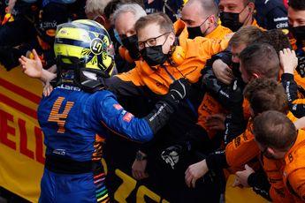 Norris euforisch, maar waakzaam: 'Ik kijk niet uit naar de eerste ronde'