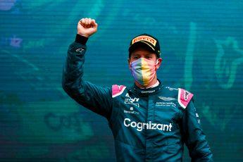 Vettel verrast door weerstand bij politieke boodschap in Hongarije