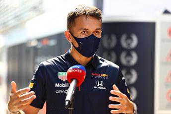 Albon: 'Mercedes had bij DNF vijf races nodig gehad om op Verstappens hoogte te komen'