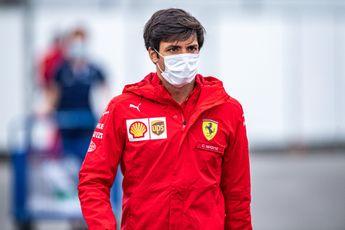 Sainz evalueert afgelopen races: 'Ik ben nog niet honderd procent thuis in de Ferrari'