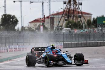 Hoe Ocon de hele Grand Prix van Turkije op dezelfde intermediates kon blijven rijden