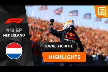 Video | Samenvatting kwalificatie voor de Grand Prix van Nederland