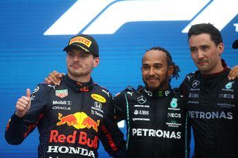 Hamilton: 'Heb niets vernomen van Verstappen na Monza'