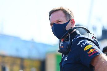 Horner zet Red Bull op scherp: 'Eén foutje kan je de wereldtitel kosten'