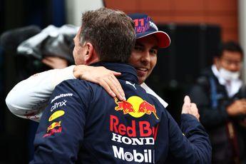 Horners bericht aan Pérez voor de race: 'Help je teamgenoot'
