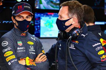 Horner vindt Pérez beste teamgenoot ooit voor Verstappen: 'Hij weet wat de doelen zijn'