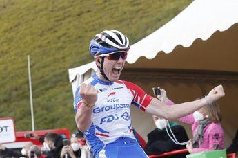 Gaudu is Küng dankbaar na Tour: 'Motiveerde ons elke dag om te blijven vechten'