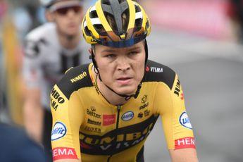 Foss mengt zich tussen favorieten in top tien Giro: 'Dat geeft een lekker gevoel'