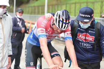 Adrie van der Poel kijkt af en toe naar mountainbiken Mathieu: 'Veel te nerveus'
