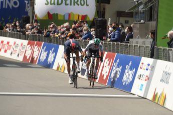 Moscon wint derde etappe Tour of the Alps in sprint, tweede etappe van de ronde
