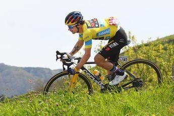 Gaudu en Roglic verdelen de koek in zinderende slotrit Ronde van het Baskenland
