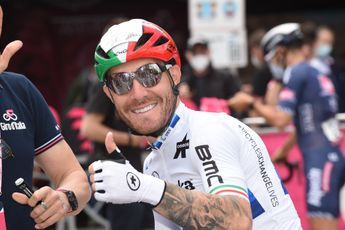 Nizzolo sprint naar tweede plek in Tour of Britain: 'Mijn benen zaten vol lactaat'