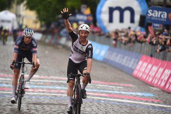 Reacties na etappe 15 Giro d'Italia: Wat zeggen de natgeregende hoofdrolspelers?