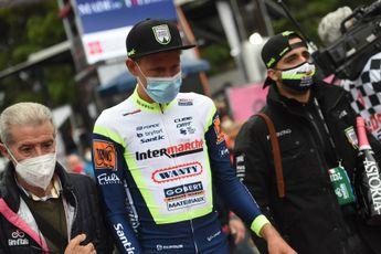 Van der Hoorn boekte derde overwinning van het seizoen: 'Niet slecht voor een renner als ik'
