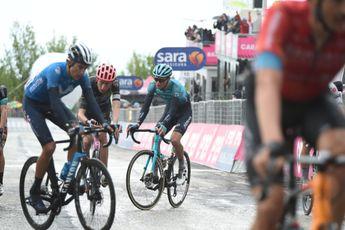 Reacties etappe 6 Giro d'Italia   Klassementsrenners leiden en lijden in bittere kou