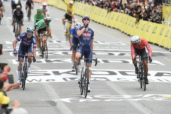 Merlier verslaat Pedersen met machtige sprint in vierde rit Benelux Tour