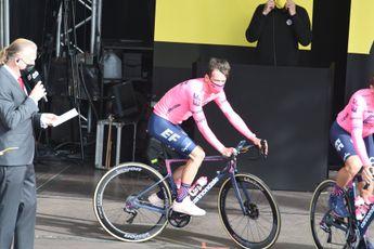 Urán sluipt weer naar plek twee in de Tour: 'Belangrijk dat niemand tijd pakte'