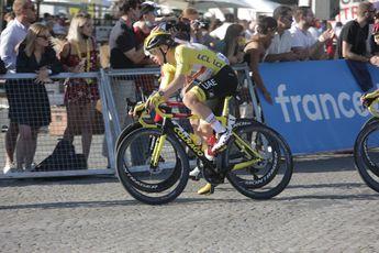 Pogacar reed in de Tour soms met schijfremmen en soms met velgremmen: 'Ben niet de lichtste'