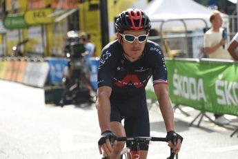 Thomas leek toch nog wat hinder te ondervinden van val in Tour: 'Kleine schouderoperatie'