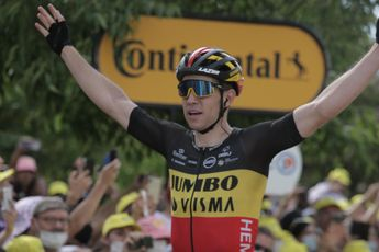 Van Aert verslaat Hayter en Alaphilippe met machtige sprint in Tour of Britain