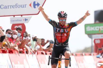 Caruso pakt prachtige overwinning in Vuelta: 'Laatste klim was zo ongelooflijk lang'