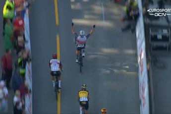 Pedersen wint zwaar bevochten derde etappe in Ronde van Noorwegen