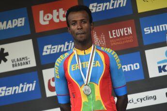 Ghirmay trots op zilveren medaille: 'Dit betekent veel voor Eritrea'