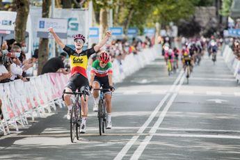 Van Vleuten en Kopecky aan het feest op slotdag in Vuelta Challenge