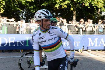 Alaphilippe kent slechte generale voor Lombardije: 'Hoop dat de benen zaterdag beter zijn'
