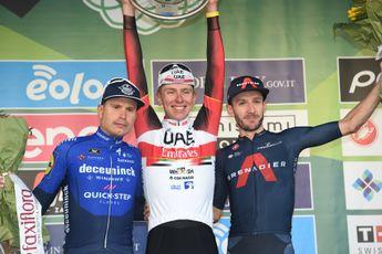 Ploegleider Pogacar stellig na Lombardije: 'Masnada zou hij sowieso verslaan in de sprint'