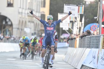 Meurisse verrast Trentin in Giro del Veneto, sprintend pelotonnetje komt net te laat