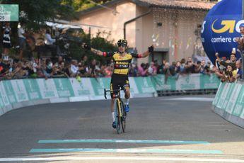Roglic let in Lombardije op Evenepoel: 'Als hij aanzet, mag je alle zeilen bijzetten'